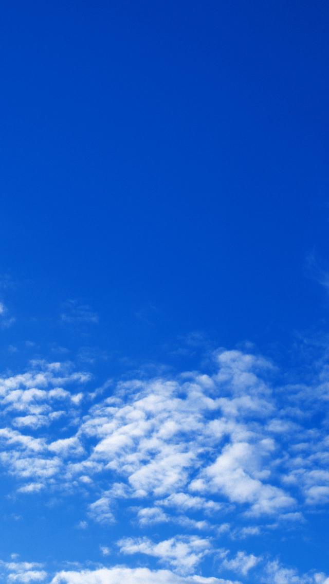 纯净蔚蓝天空手机壁纸640x1136手机壁纸下载