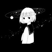 冷酷女生动漫QQ头像_www.aioppo.cn