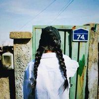 夕阳下意境唯美女生头像 我不是归人,只是个过客_www.aioppo.cn