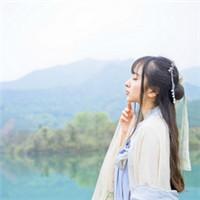 红尘痴笑为谁 素衣古风美女头像_www.aioppo.cn