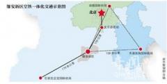 雄安新区规划方案月底完成 高铁到北京只需41分钟