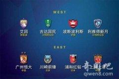 图文直播亚冠1/4决赛抽签仪式 :4强战或现中国德比